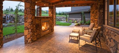 Why should I add an outdoor fireplace to my house?