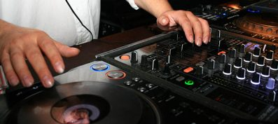 DJ: For bringing more fun to your party